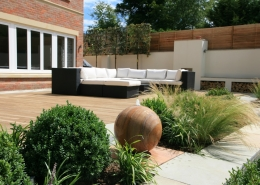 New Build garden by Gardens 2 Design