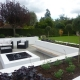 Modern Family Living garden by Gardens 2 Design