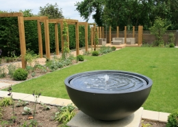 Village Family Garden by Gardens 2 Design